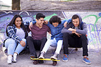 Skater crew? More like family