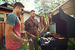Few things in life beat a barbecue with friends