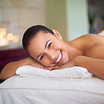 I'm happiest when on a massage table