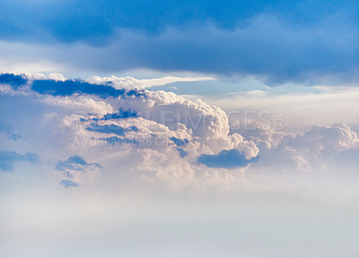 Buy stock photo Shot of clouds in the sky