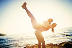 Getting a full body stretch