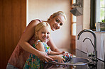 Making chores a part of a family routine
