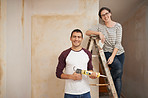 Who better to renovate our starter home than us?
