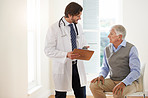 Ensuring his patient clearly understands his medical condition