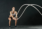 Time for some battle ropes