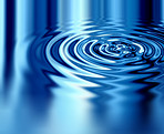 Crystal blue ripples