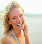 A natural laugh - happiness from within