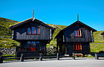 Picturesque wooden houses