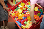 Colorful blocks to stimulate young minds