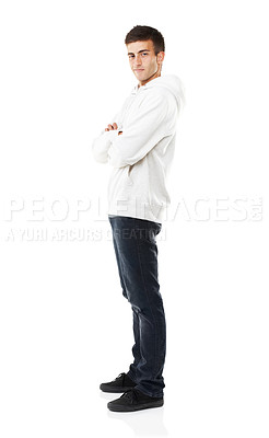 Buy stock photo Full length image of a casual male