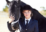 Horse and rider share a strong bond...