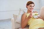 Taking her baby's health into concern - Diet