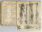 Aged old anatomy book