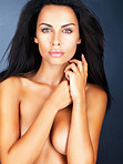 Sensuous naked young model