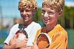 Tennis is their sport of choice!