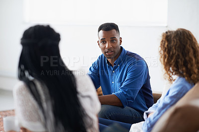 Buy stock photo Cropped shot of a diverse group of coworkers