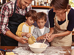 Baking as a family