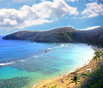 A photo of Hanauma Bay, Hawaii