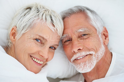 Buy stock photo An attractive senior retired couple spending time together
