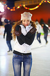 Winter fun on the rink