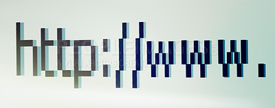 Buy stock photo Closeup of a search bar on a computer screen - ALL design on this image is created from scratch by Yuri Arcurs'  team of professionals for this particular photo shoot
