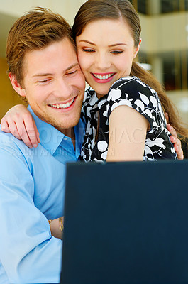 Buy stock photo Young couple in love