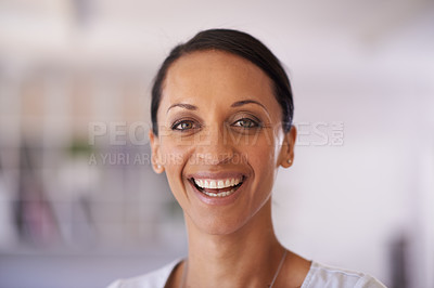 Buy stock photo Shot of an attractive ethnic woman