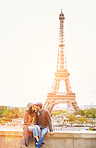 In love in the most romantic of cities