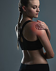 Workout injuries can happen to anyone…