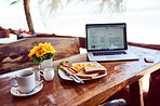 Time to enjoy breakfast and write your best blog yet