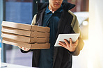 Ordering online means you can track your delivery digitally