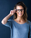 Stylish eyewear for a fashionable girl!