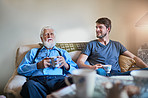 Spending quality time with granddad