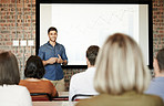 Presentation skills that appeals to his audience