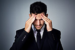 When stress overpowers success