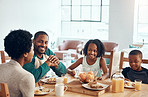 Wake up to the smell of breakfast with your family