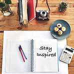 Inspiration inspires productivity