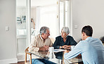 Getting expert financial advice to help them through old age