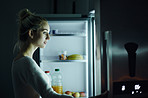 Searching for answers in the fridge