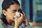 Suffering with uncontrollable sneezes