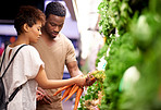 Shopping for the freshest produce at the best price