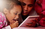What better way to bond than with digital bedtime stories