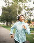 Nothing feels better than a good run in the park