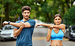 Fitness is our challenge to conquer together