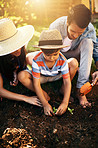 Outdoor learning has become an experience for the whole family