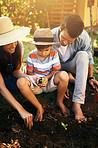 Gardens can become wonderful playgrounds for kids