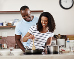 He fell in love with her first, then her cooking