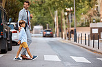Crossing the road safely together