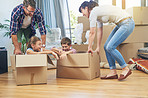 Making moving day a family friendly activity