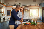 Food taste better when cooking with love